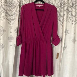 NWT Wrap Front Dress